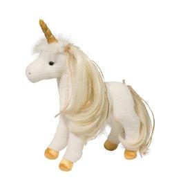 Golden Unicorn with brush