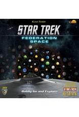 Catan: Star Trek Federation Space Map