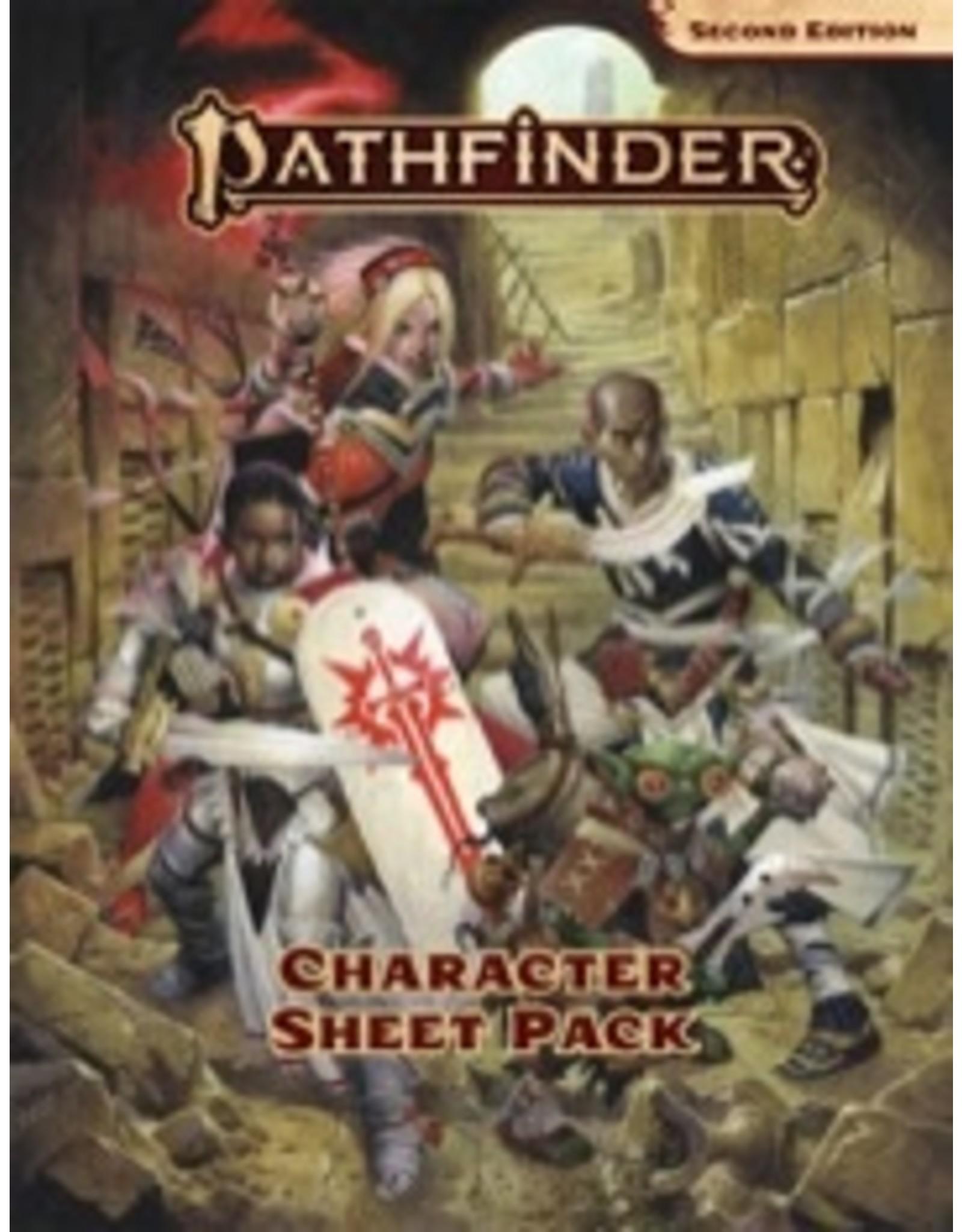 Pathfinder 2E Character Sheet Pack