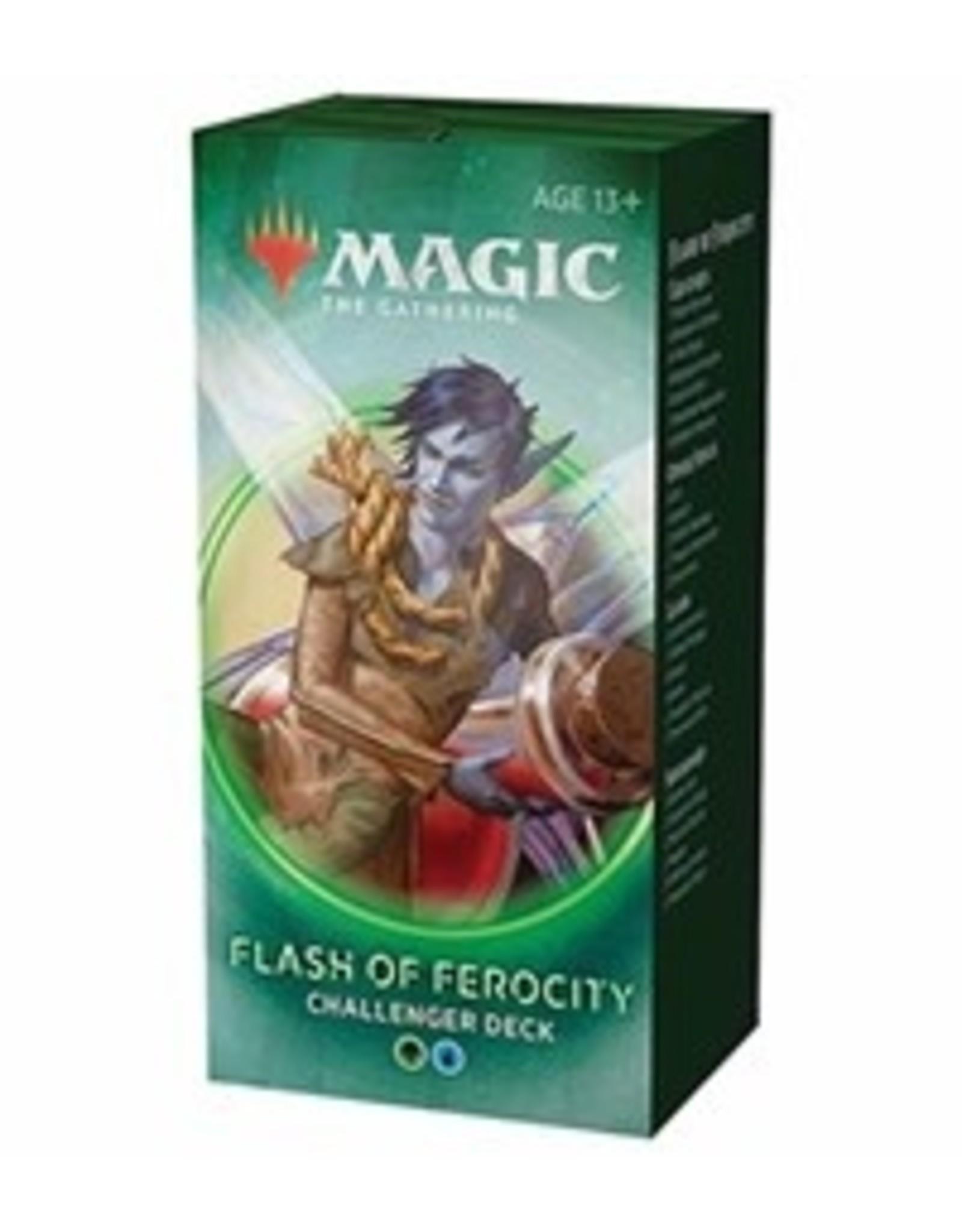 Wizards of the Coast MTG: Challenger Deck 2020: Flash of Ferocity