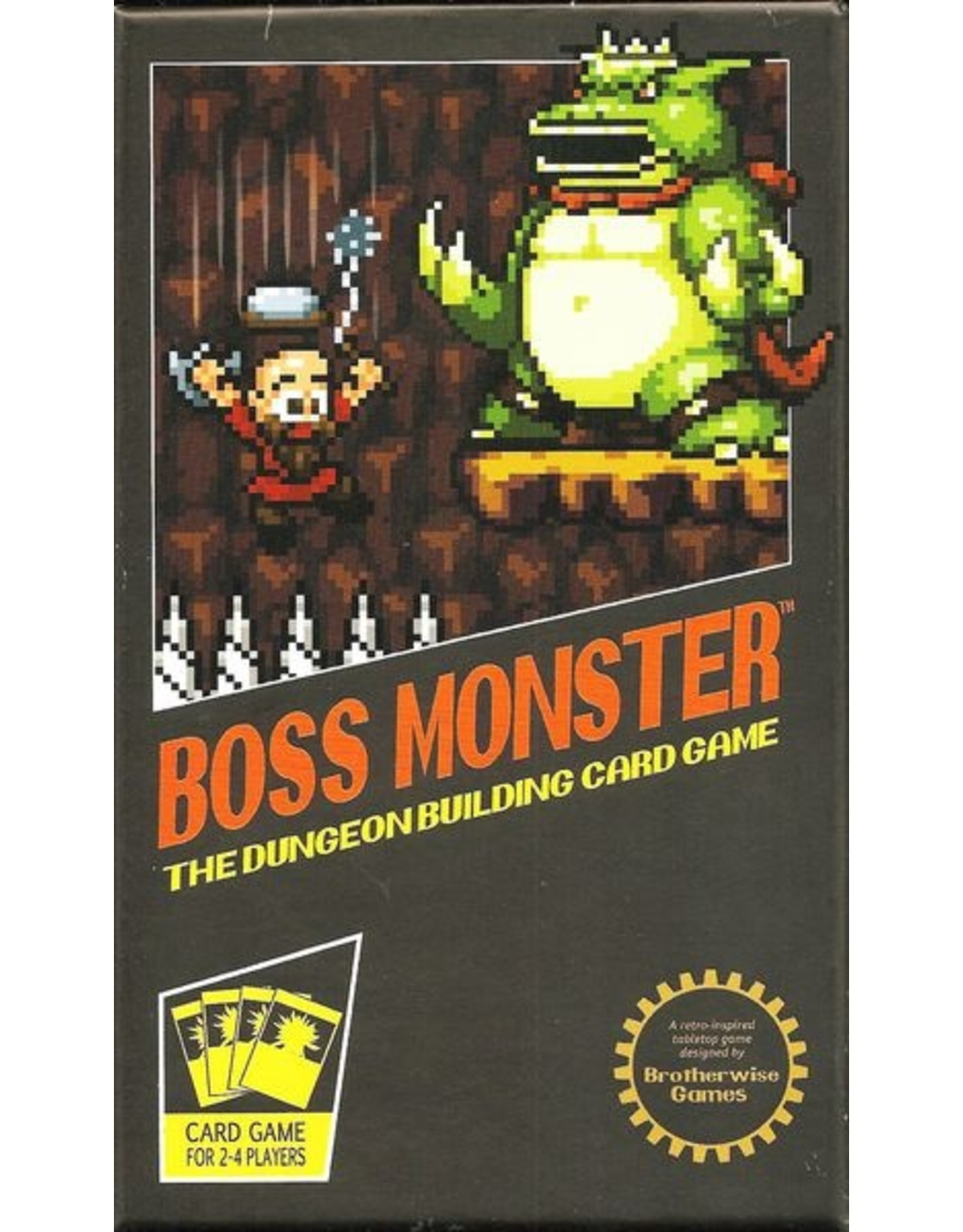 Boss Monster:Dungeon Building card game