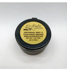 CAL'S REEL & STAR DRAG GREASE 1oz TAN