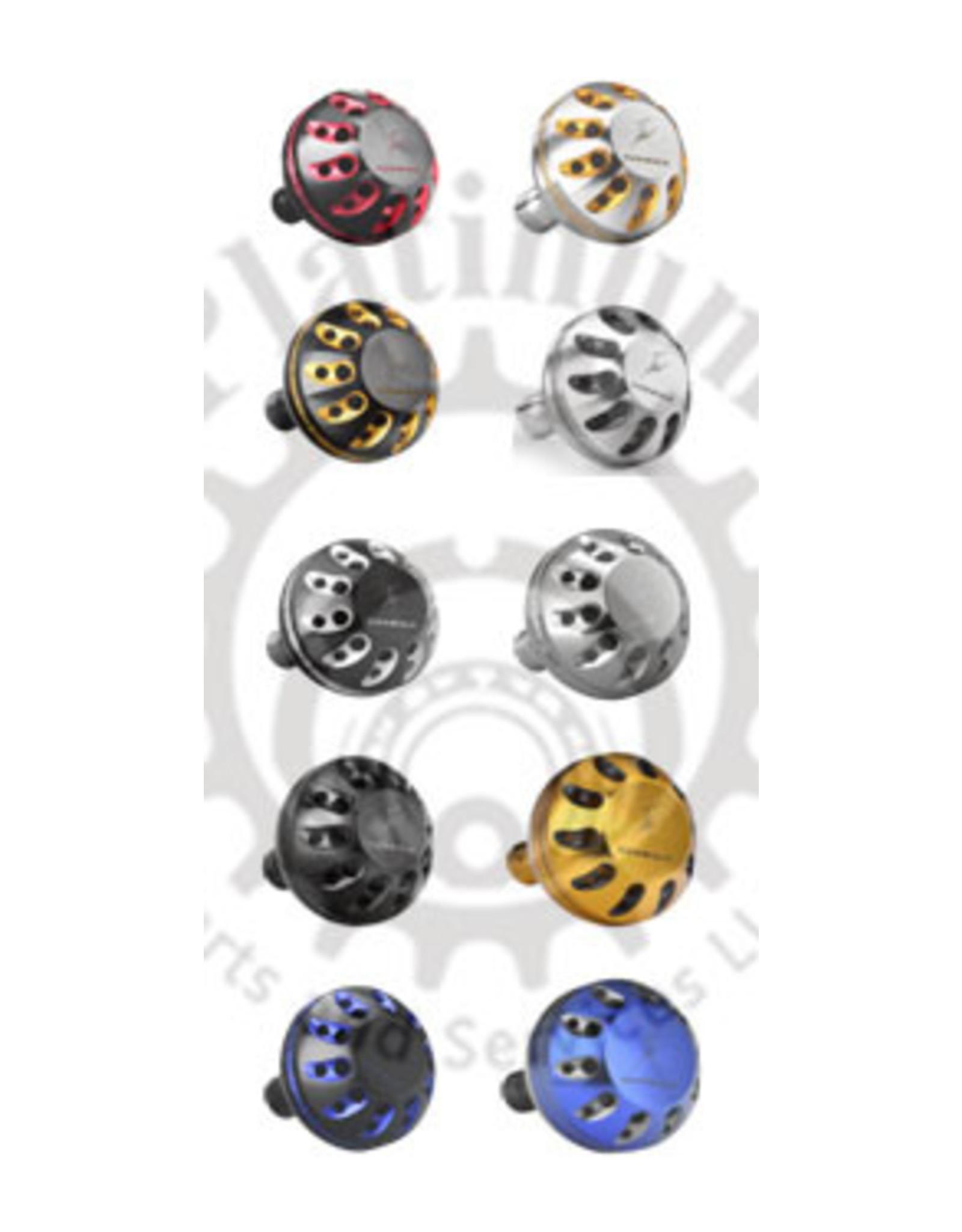 Gomexus Gomexus Round Alum CNC Power Knob