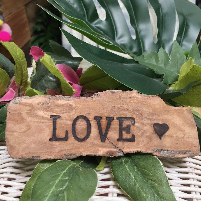 Small Driftwood Sign - Local Handmade