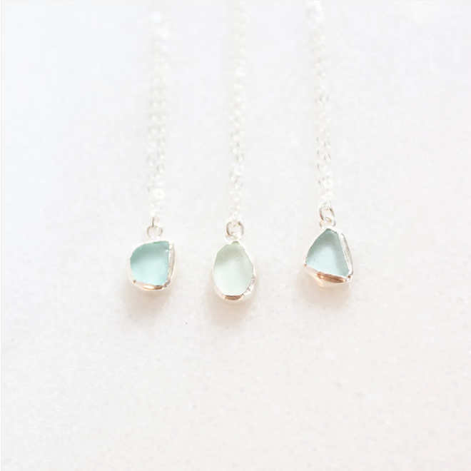 "Seaglass 16"" Necklace"