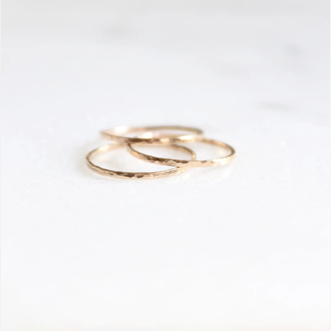 Hammered Ring size 6