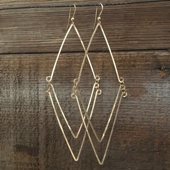 Country Diamond Earrings