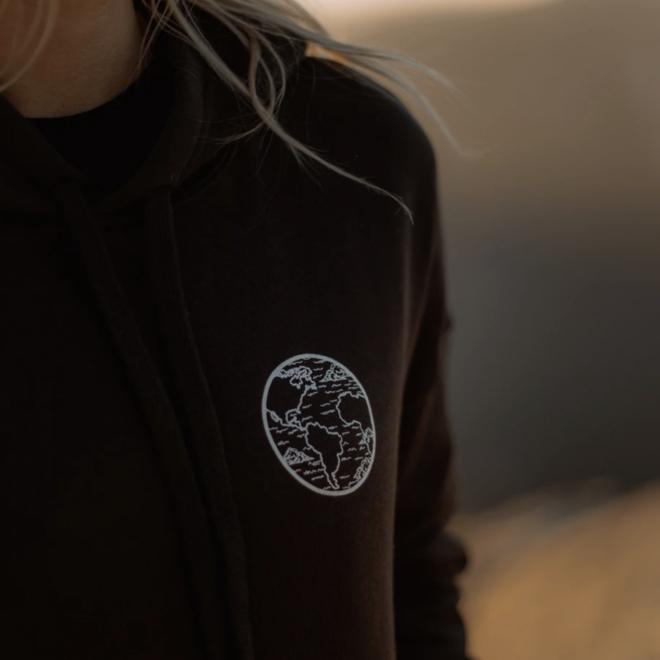 """""""4 Elements"""" Smoke Gray Hoodie Sweatshirt"""