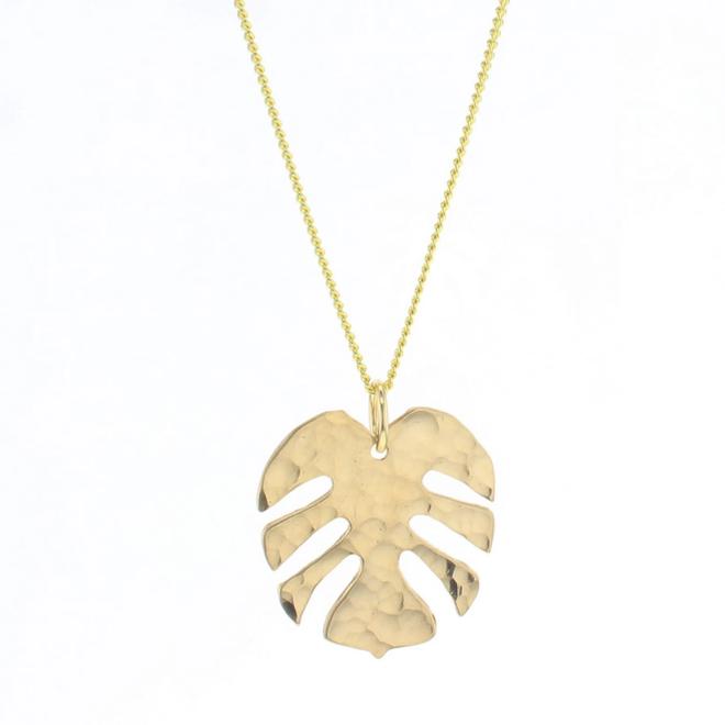 Monstera Tropics Necklace