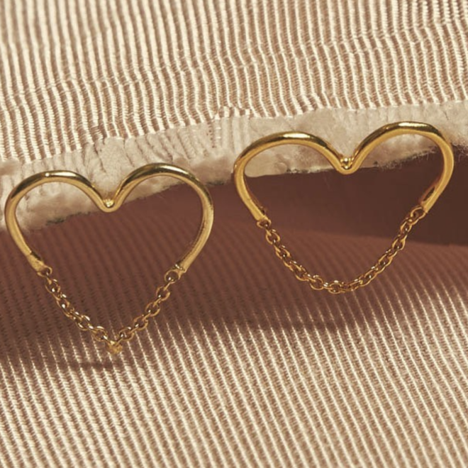 Love Chain Studs