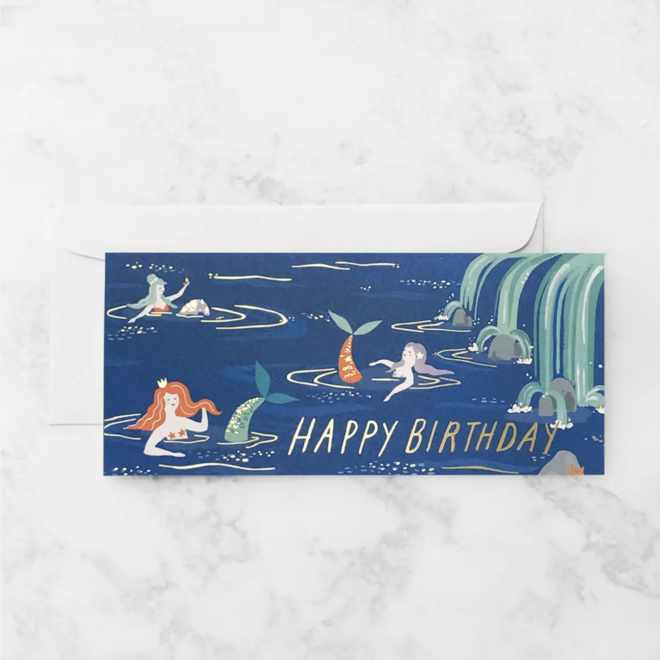 """Mermaid Lagoon"" Card"