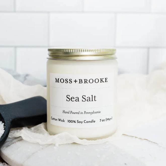 Sea Salt 7oz Soy Candle