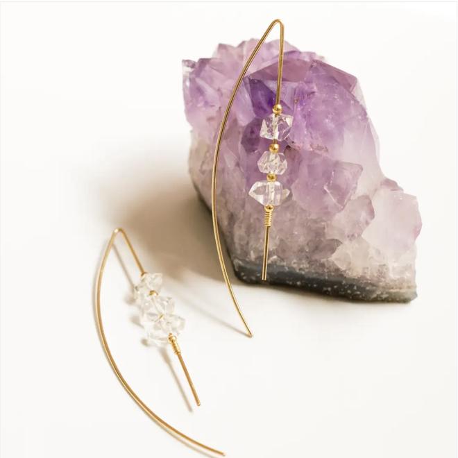 Celeste Threaders Earrings