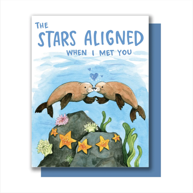 """""""The Stars Aligned"""" Greeting Card"""