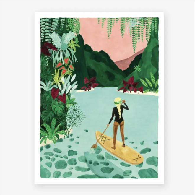 Claire Leina Art Print