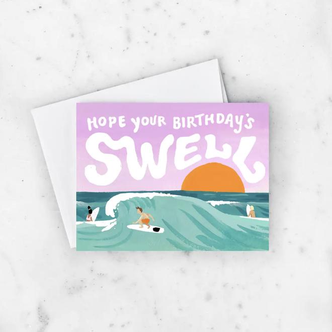 Birthday Swell Card