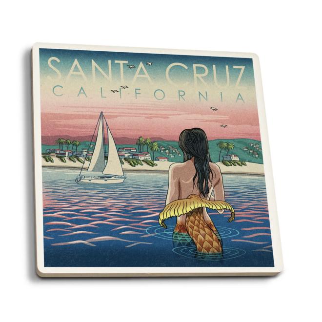 Santa Cruz Mermaid and Beach Coaster