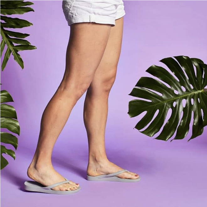 """""""Arch Support"""" Sandal Taupe"""
