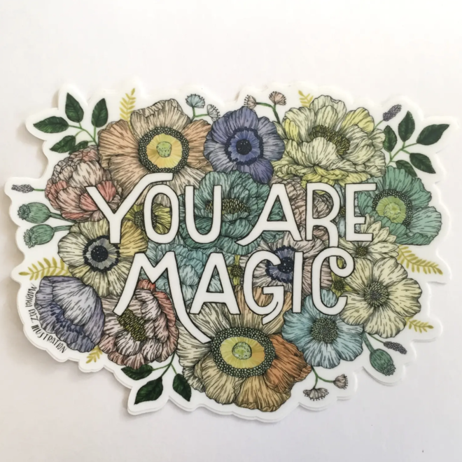 """You are Magic"" Sticker"