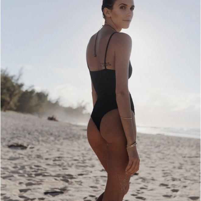 Mai Black Bodysuit