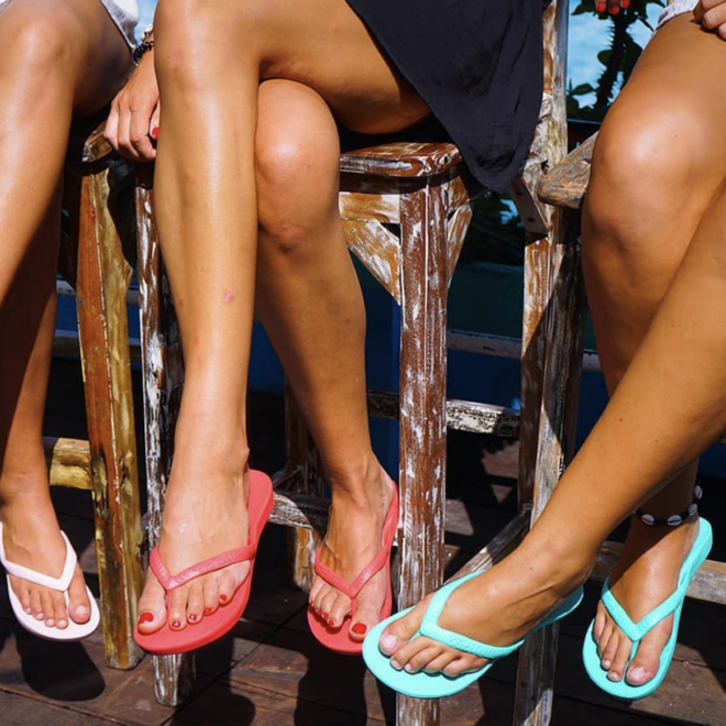Arch Support Sandal Coral