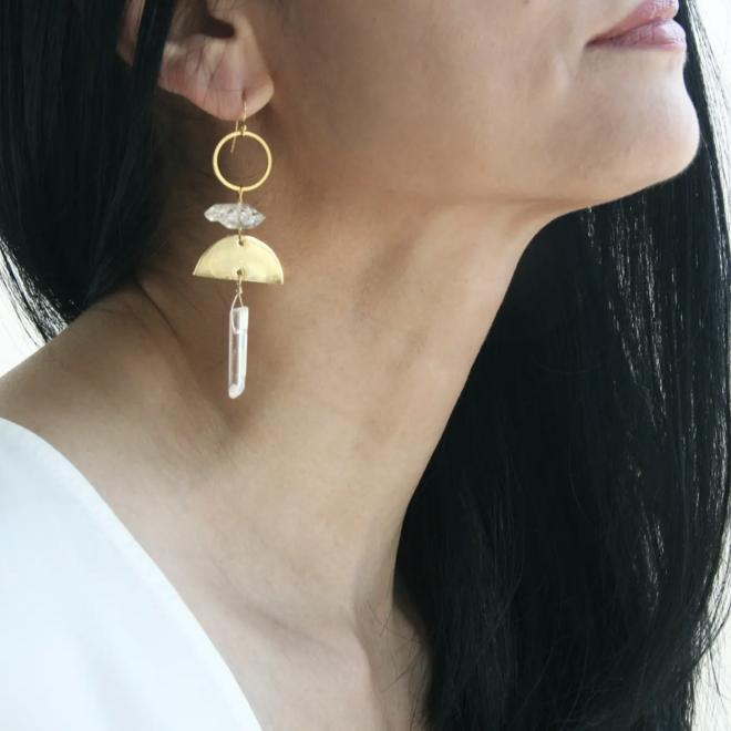 """""""Crystal Sunrise Chandelier"""" Earrings"""