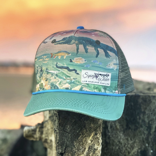 River Wild Recycled Trucker Hat