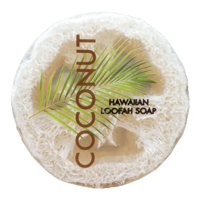 Coconut Sea Salt Loofah Soap