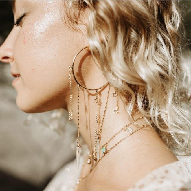 City of Stars Earrings