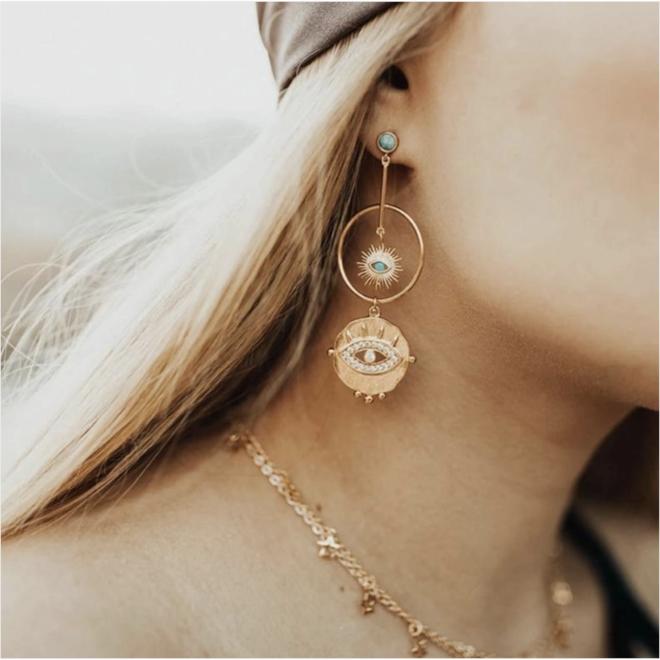 Blush of an Ocean Earrings
