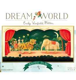 New York Puzzle Company New York Puzzle Dream World Animal Play 80 Pc Puzzle