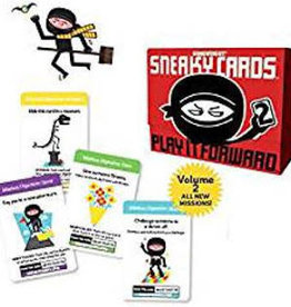 Gamewright Ceaco Gamewright Sneaky Cards 2 Game