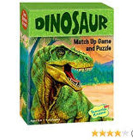 Peaceable Kingdom Press Peaceable Kingdom Dinosaurs Match Up Game