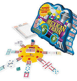University Games University Games Mexican Train Dominoes Deluxe Double 12 (Dots) Game