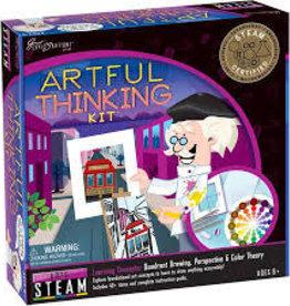 University Games Artful Thinking Draw Anything Art Kit