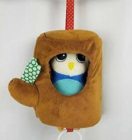 Manhattan Toy Company Manhattan Toy Lullaby Owl-Musical Pull Toy