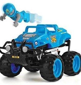 Leading Edge Monster Smash Up R/C Truck-Rowdy Rhino (Blue)