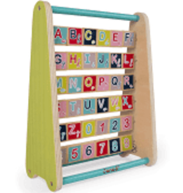Janod Jura Toys Janod BABY FOREST ABC ABACUS TOY