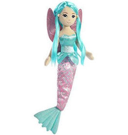"Aurora Aurora Sea Fairy SHELLINA 18"" Fairy Mermaid Doll"