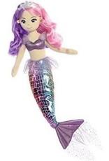 """Aurora Aurora Sea Sparkles Rainbow SEA IRIS 18"""" Mermaid Doll"""