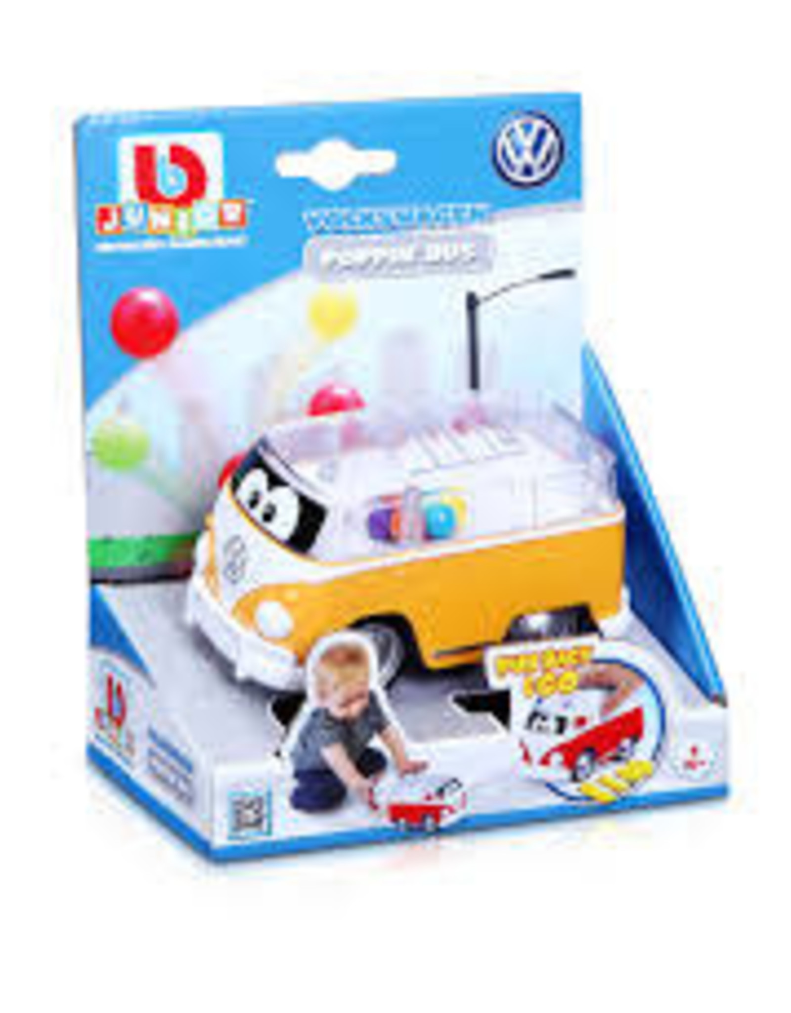 B Burago Maisto BB Junior Volkswagen Poppin' Bus