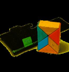 Tegu Tegu Magnetic Blocks Pocket Pouch Prism-Sunset