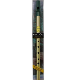 Trophy Music Trophy Irish Penny Whistle, Brass