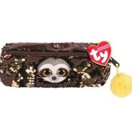 Ty Ty Fashion Sequined Pencil Bag-Dangler Sloth 95851