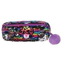 Ty Ty Fashion Sequined Pencil Bag-Dotty Leopard 95850