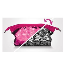 Play Visions Play Visions Shimmer Flip Sequined Bag-Pink/Silver