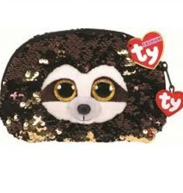 Ty Ty Fashion Sequined Accessory Bag-Dangler Sloth
