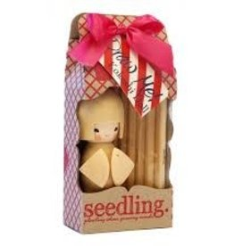 Seedling Colour Me Kokeshi Wooden Doll