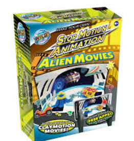 Tedco Toys Tedco Wild Science Stop Motion Animation Kit-Alien Movies