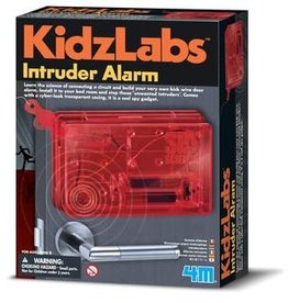 Toysmith Toysmith 4M Kidz Labs SPY SCIENCE INTRUDER ALARM KIT